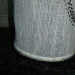 cortina con hilo de plomo