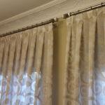 como hacer cortinas con tablas
