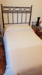 cama sin cojines