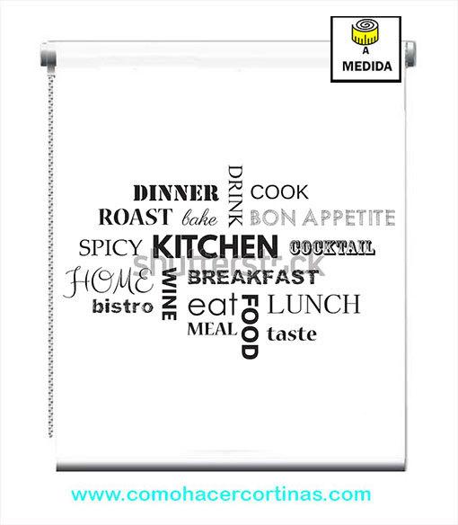 estor para cocina moderno