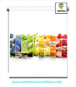 estor de cocina de frutas