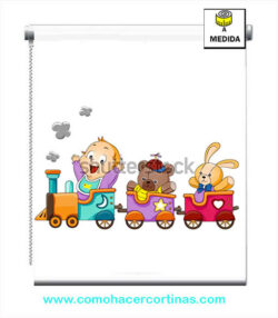 ESTOR ENROLLABLE INFANTIL TREN