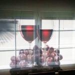 estor cocina copas de vino