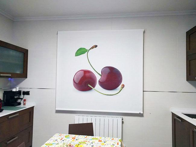 estor cocina cerezas