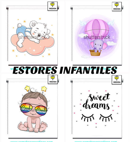 ESTORES INFANTILES