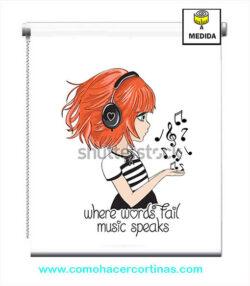 estor juvenil niña musica