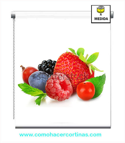 stor cocina fruta roja