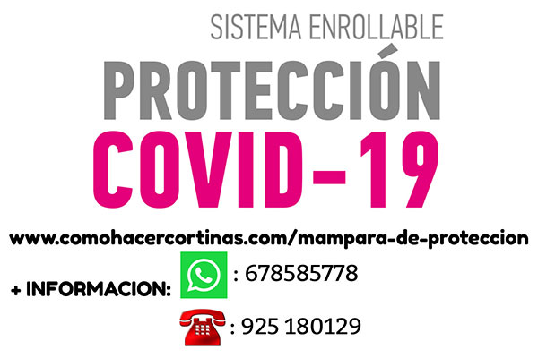 SISTEMA ENROLLABLE PROTECCION COVID-19