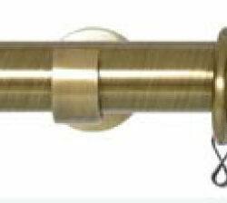 barra para cortinas terminal cristal
