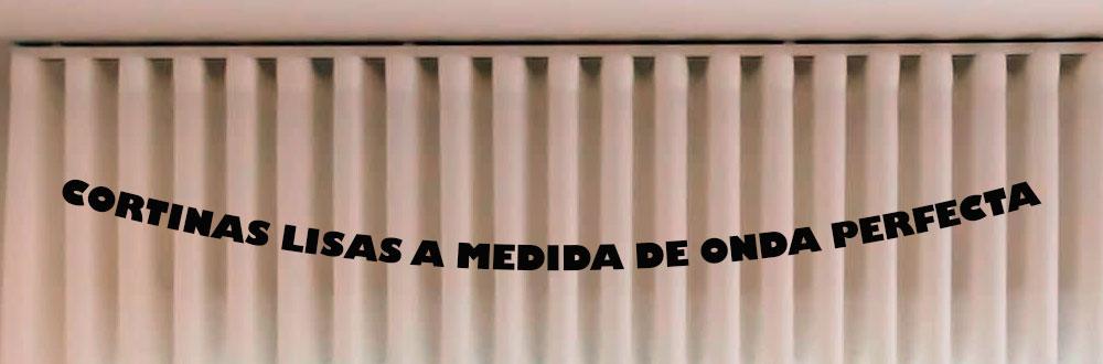 CORTINAS A MEDIDA LISAS DE ONDA PERFECTA