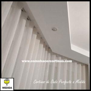 cortinas de onda perfecta a medida