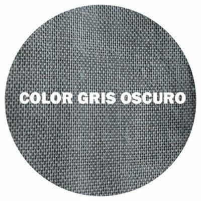 TEJIDO LINO GRIS OSCURO
