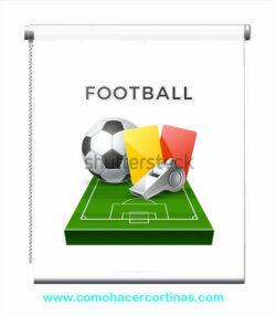 estor con dibujo futbol