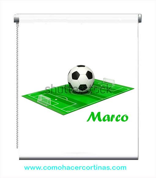 estor de futbol personalizado