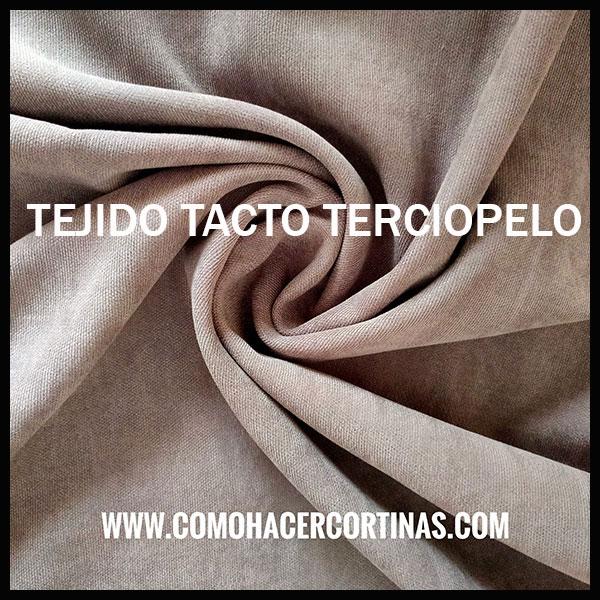 TEJIDO TACTO TERCIOPELO