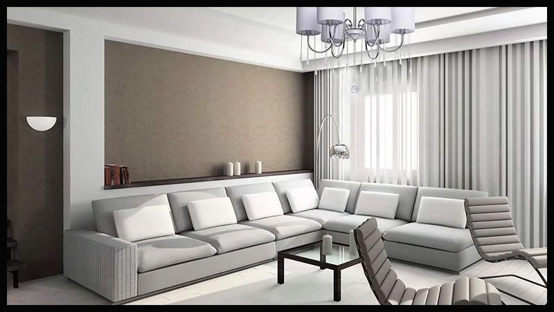 cortina moderna de onda perfecta