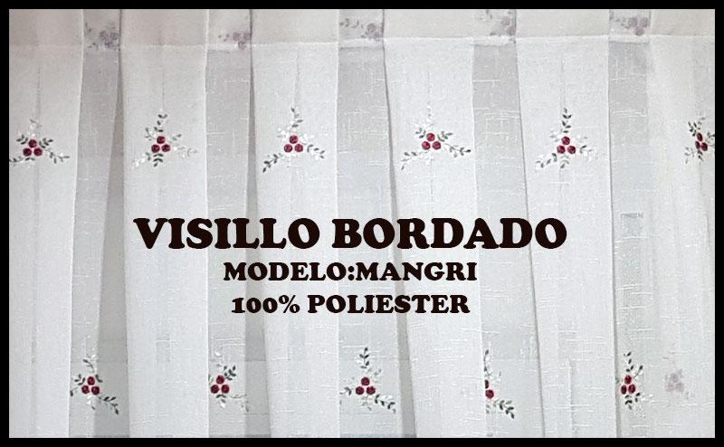VISILLOS BORDADOS