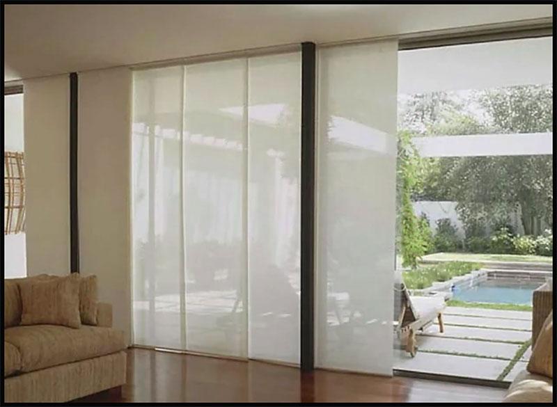 cortina tipo panel