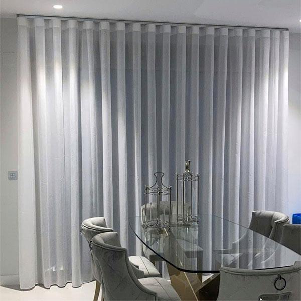 cortina con onda perfecta