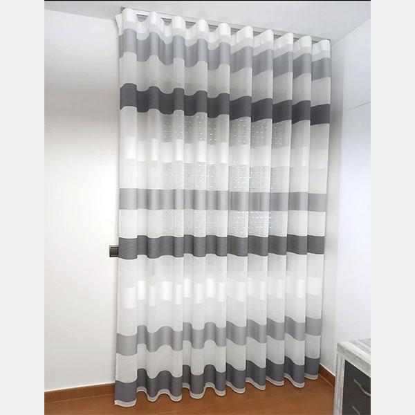cortina onda perfecta con rayas